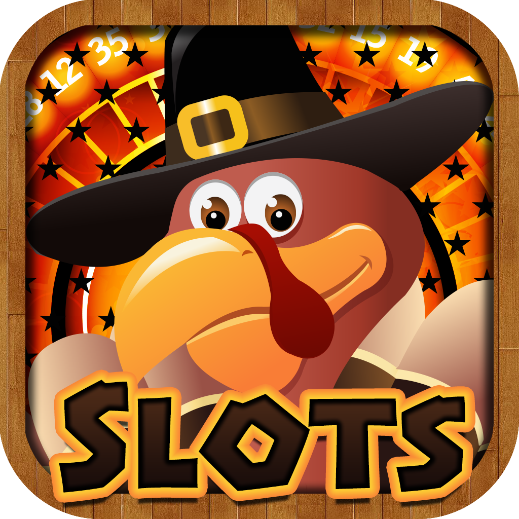 A Big Thanksgiving Dinner Jackpot Casino Slots Machine - Free Prize Wheel, Black Jack & Roulette Bonus Games